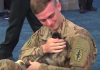 Soldier Reunites With Puppy He Met Overseas